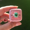 2.57ct Colombian Emerald Halo Ring, AGL-certified 12