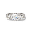 2.90ctw Old European Cut Diamond Trilogy Ring by Single Stone 0