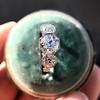 2.90ctw Old European Cut Diamond Trilogy Ring by Single Stone 19