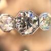 2.90ctw Old European Cut Diamond Trilogy Ring by Single Stone 24