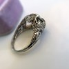 4.37ctw Old European Cut Diamond 3-Stone Ring 15