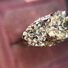 4.37ctw Old European Cut Diamond 3-Stone Ring 17