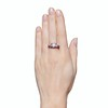 4.37ctw Old European Cut Diamond 3-Stone Ring 3