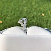 4.80ct Antique Cushion Cut Diamond Ring GIA I SI2 , Anne Marie Setting by Victor Canera 8