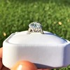 4.80ct Antique Cushion Cut Diamond Ring GIA I SI2 , Anne Marie Setting by Victor Canera 6