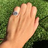 4.80ct Antique Cushion Cut Diamond Ring GIA I SI2 , Anne Marie Setting by Victor Canera 5
