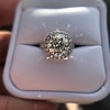 4.80ct Antique Cushion Cut Diamond Ring GIA I SI2 , Anne Marie Setting by Victor Canera 20