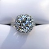 4.80ct Antique Cushion Cut Diamond Ring GIA I SI2 , Anne Marie Setting by Victor Canera 18