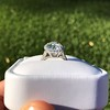 4.80ct Antique Cushion Cut Diamond Ring GIA I SI2 , Anne Marie Setting by Victor Canera 12