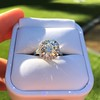 4.80ct Antique Cushion Cut Diamond Ring GIA I SI2 , Anne Marie Setting by Victor Canera 15