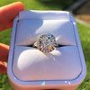 4.80ct Antique Cushion Cut Diamond Ring GIA I SI2 , Anne Marie Setting by Victor Canera 7