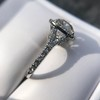 4.80ct Antique Cushion Cut Diamond Ring GIA I SI2 , Anne Marie Setting by Victor Canera 24
