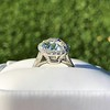 4.80ct Antique Cushion Cut Diamond Ring GIA I SI2 , Anne Marie Setting by Victor Canera 3