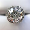 4.80ct Antique Cushion Cut Diamond Ring GIA I SI2 , Anne Marie Setting by Victor Canera 2