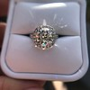 4.80ct Antique Cushion Cut Diamond Ring GIA I SI2 , Anne Marie Setting by Victor Canera 21