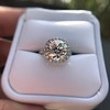 4.80ct Antique Cushion Cut Diamond Ring GIA I SI2 , Anne Marie Setting by Victor Canera 19