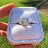 4.80ct Antique Cushion Cut Diamond Ring GIA I SI2 , Anne Marie Setting by Victor Canera 9