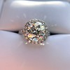 4.80ct Antique Cushion Cut Diamond Ring GIA I SI2 , Anne Marie Setting by Victor Canera 0