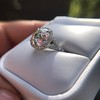 4.80ct Antique Cushion Cut Diamond Ring GIA I SI2 , Anne Marie Setting by Victor Canera 11