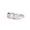 2.79ctw Old European Cut Diamond Octagonal 3-stone Ring 37
