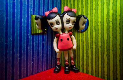 """""""Katie Sadie"""" figure by Camille Rose Garcia"""