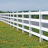 Endless White Fence
