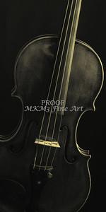 Violin Image in Sepia Wall Art 1732.47