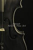 Body of an Antique Violin Music Art 1732.41