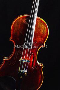 Violin Dark Drawing Musical Art  5009