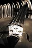 Viola Violin in a Fantasy World in Sepia 3067.01