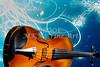 Violin Viola in Fantasy World in Color 3066.02