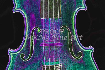 Digital Photograph of a Viola Violin Middle 3374.03