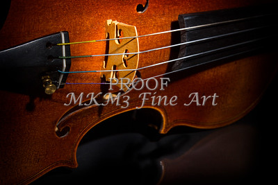 Viola Violin on Tabletop String Bridge in Color 3077.02