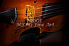 Viola Violin on Tabletop String Bridge in Color 3077.02