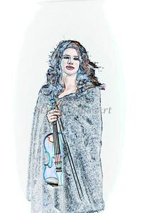 401.1854 Violin Musician