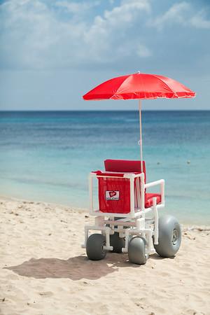 Beach Wheelchair, Barbados