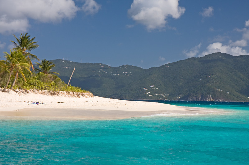 Sandy Cay, BVI. Not a bad place to throw back a drink and take a dip!