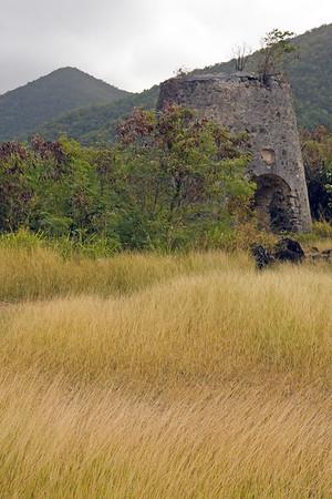old ruins on St John