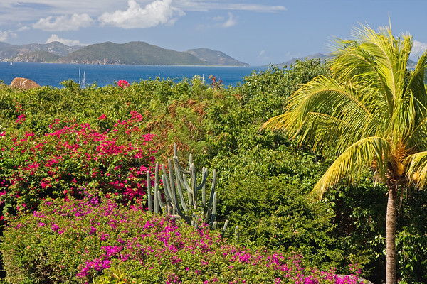 This view point is from the Top of the Baths restaurant in Virgin Gorda....just a quick 5 minute walk down the trail takes you to the beach and those enormous boulders. We ate several times at Top of the Baths restaurant...a bit pricey, but the mimosas and view made it all worth it.