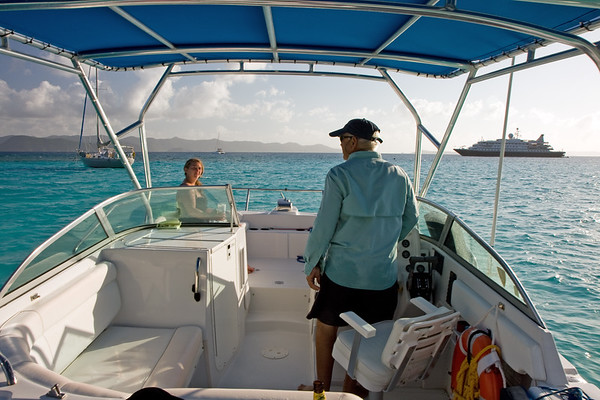 Captain John, who runs Palm Tree Charters, was a great host and took us to some amazing places for our 6th anniversary.