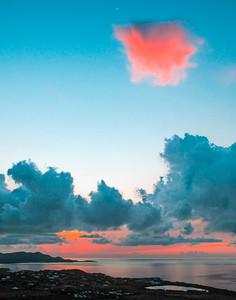 Flamingo Sunset - Chrisitiansted Harbor