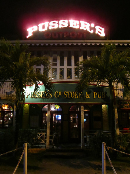 Pusser's Pub, the best Fish and Chips I've had, and some mighty fine makers of RUM!