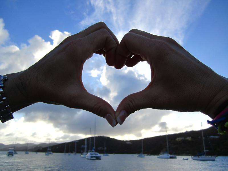 Collette's heart silhouette:)