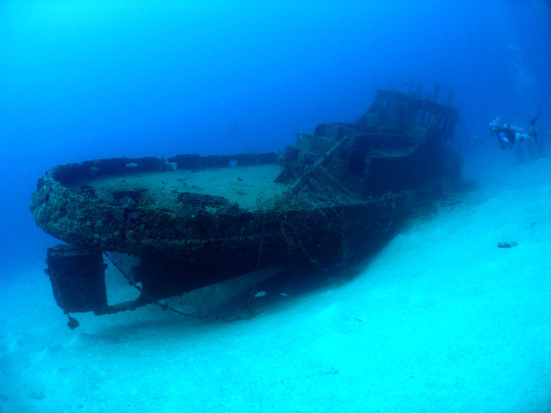 Diving some wrecks....