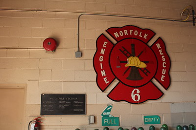 Current Station 6 with old plaque