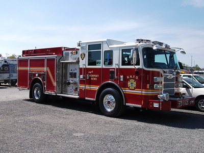 Squad 1's 2012 Pierce after being delivered in 2012