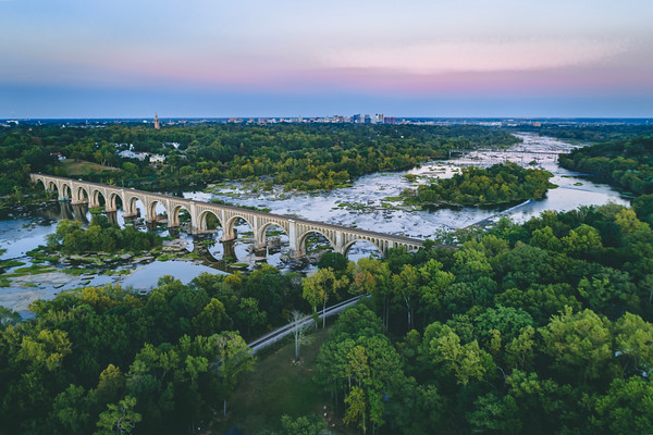 CSX A-Line Bridge on the James River