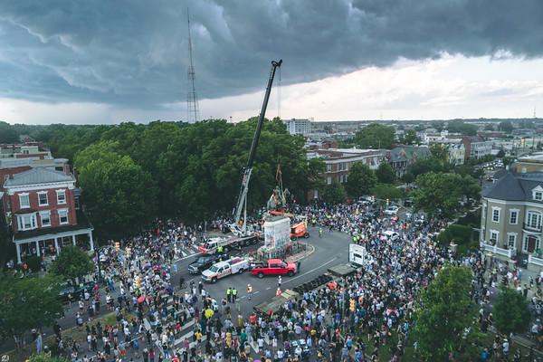 Stonewall Jackson Statue Removal