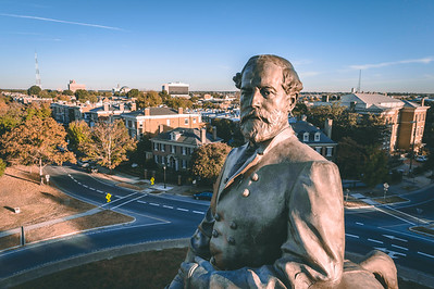 Robert E. Lee Monument — Angle Close Up 2