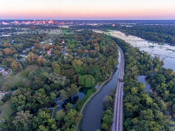 Sunset Over Maymont Park - Richmond, VA